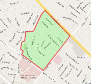Westwood Map